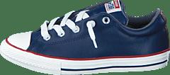 Converse - All Star Street Fleece Slip Midnight Navy Terra Red Egret ef5fd405c92d8