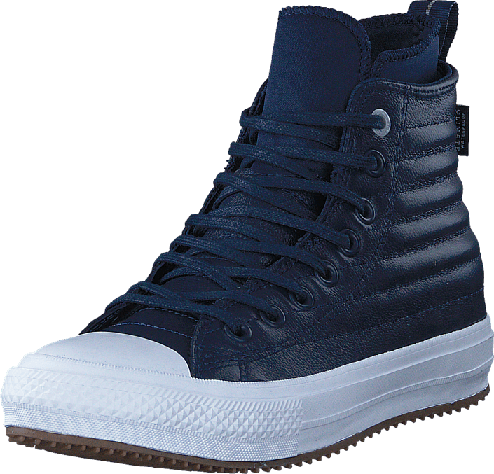 03a49a34b41a Buy Converse All Star WP Boot Leather Hi Midnight Navy Wolf Grey ...