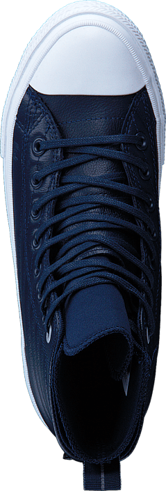 Converse - All Star WP Boot Leather Hi Midnight Navy/Wolf Grey/White