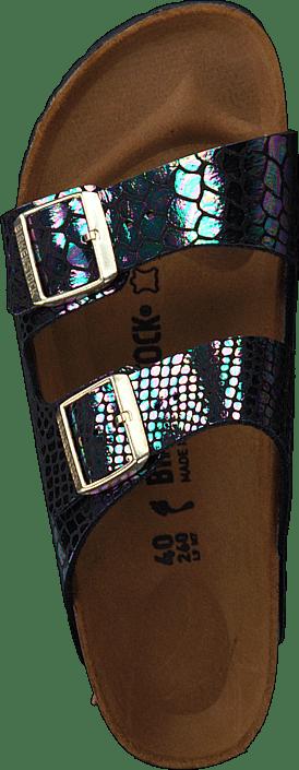 Birkenstock - Arizona Slim Birkoflor Shiny Snake Multi