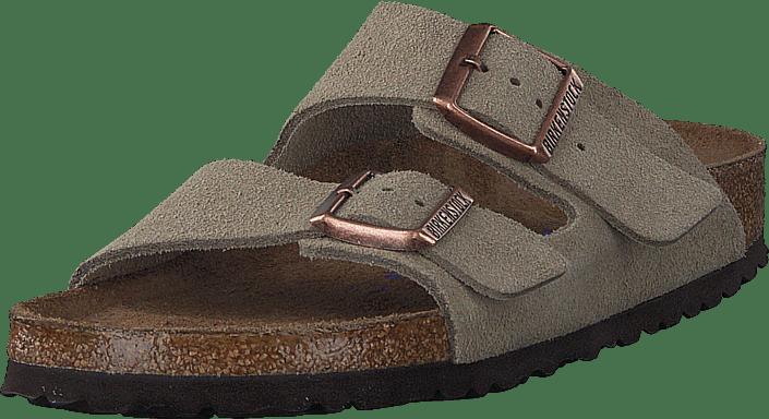 Birkenstock - Arizona Slim Soft Taupe Suede