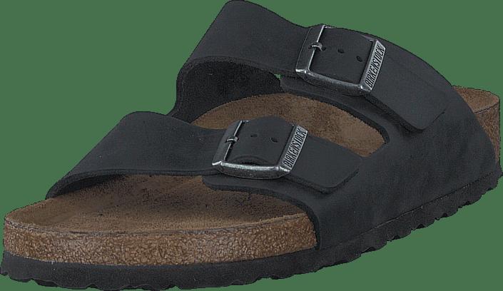 Arizona Slim Soft Black Oiled Leather