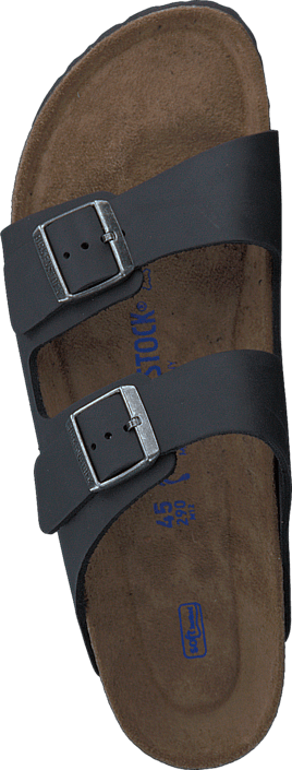 Birkenstock - Arizona Slim Soft Black Oiled Leather