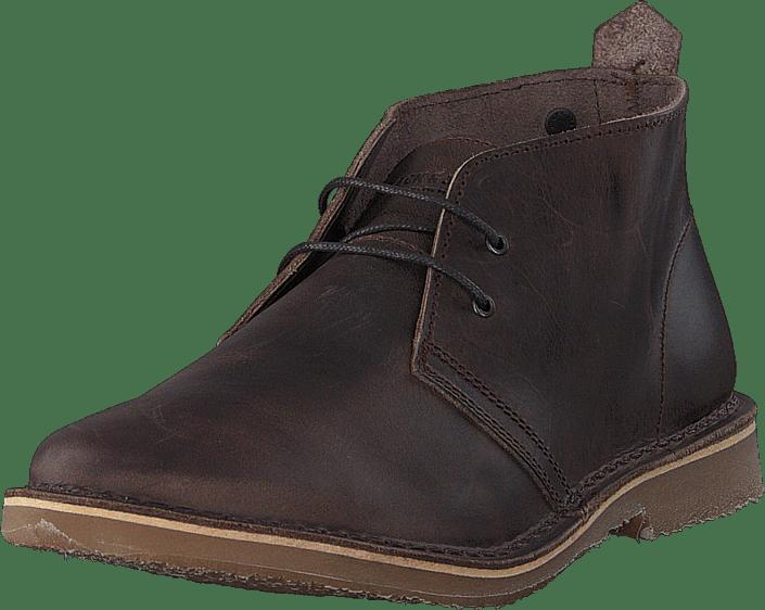 Jack & Jones - Gobi Leather Chocolate Brown