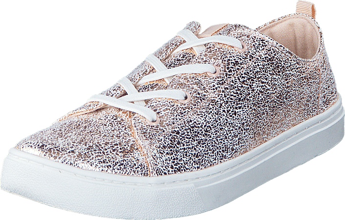 Toms - Lenny Youth Rose Gold Crackle Foil