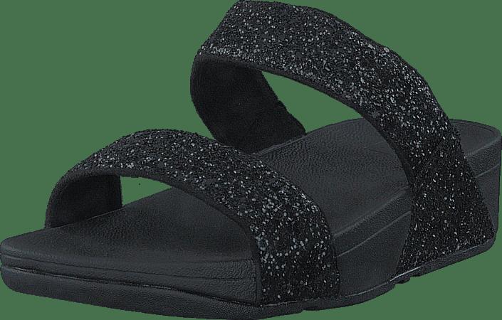 Fitflop - Glitterball Slide Black