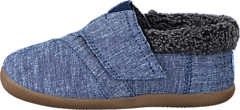 House Slipper Tiny Navy Chambray