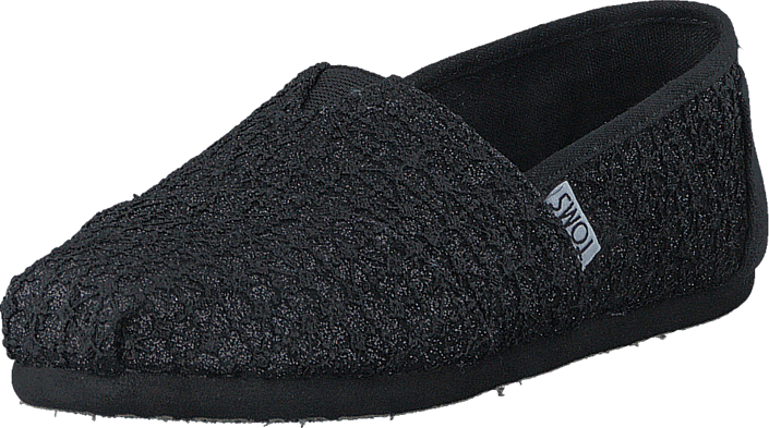 Seasonal Classic Youth Black Lace Glimmer