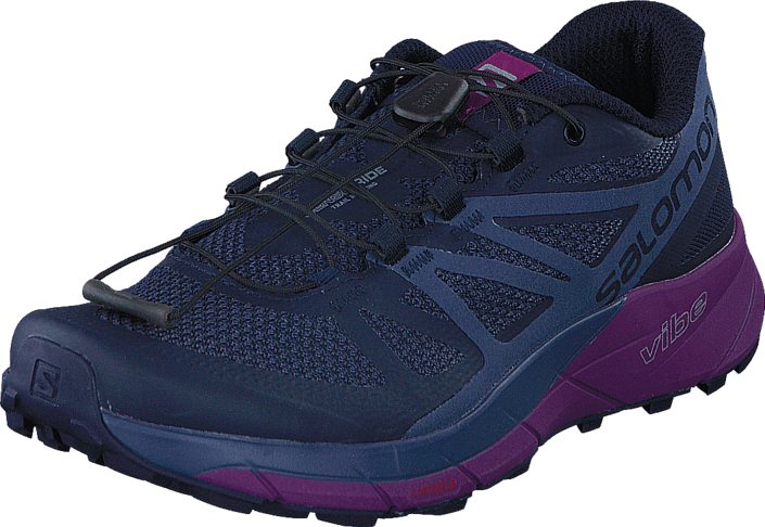Salomon - Sense Ride W Evening/Crown Blue/Grape Juice