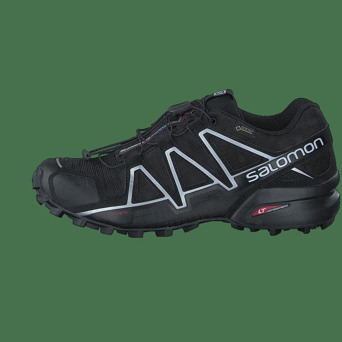 silvmetal Kjøp Gtx® Sko Sneakers black Black Online Og Speedcross Sportsko 4 Sorte Salomon HwYn8rqH