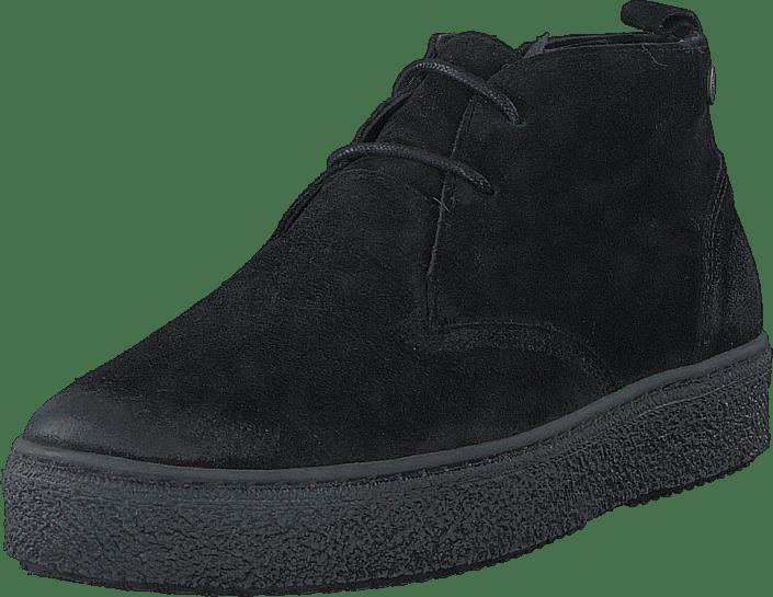 Senator 495 1103 Premium Wool Lining svart svarta Skor Online