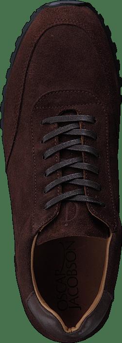 Kjøp Oscar Jacobson Paxton Sneaker Dark Brown Sko Online