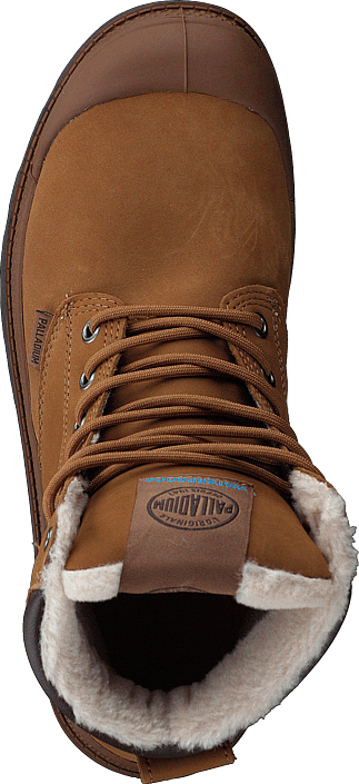 Buy Palladium Pampa Sport Cuff WPS Mahogany brown Shoes Online ... 00964adc7fc