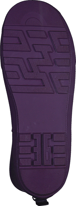 Rubberboot Argyle Purple