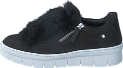 Hilda White Sole Fur Mohair Nero