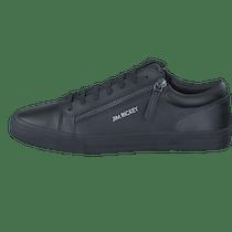 Mono Black Leather Online Chaussures Zed Gris Rickey Jim Acheter tsQrCBhdx
