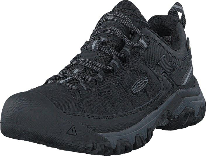 Keen Targhee Exp Wp Black/Steel Grey, Skor, Sneakers & Sportskor, Walkingskor, Svart, Herr, 48