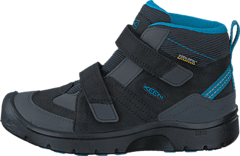Hikeport Mid Wp Children Black /Blue Jewel