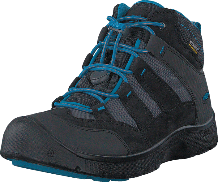 Hikeport Mid Wp Youth Black /Blue Jewel