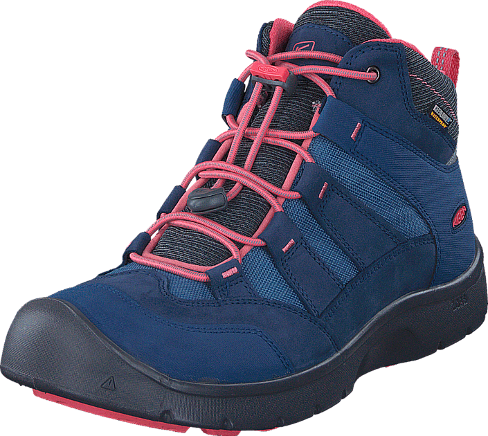 Keen - Hikeport Mid Wp Youth Dress Blues/Sugar Coral