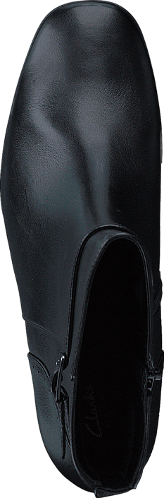 Clarks - Kensett Diana Black Leather