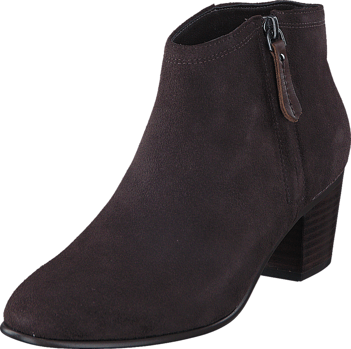Clarks - Maypearl Alice Dark Brown Suede