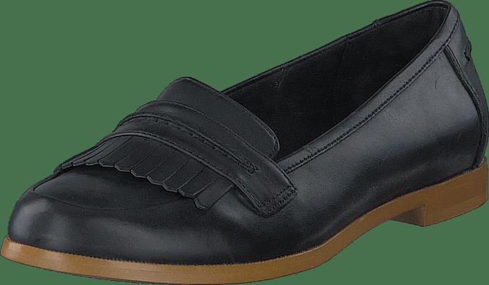 Crush Sko Kjøp Andora Online Flats Clarks Sorte Leather Black SSEvpq