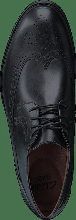 Clarks - BeckfieldLimit Black Leather