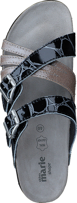 Grå Online Sko Grey Posh Sköna Kjøp Marie Sandals Dark gUwfX0q