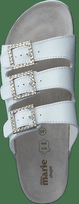 Crown White Sköna Grå Kjøp Online Sandals strass Sko Marie vtzqnEw