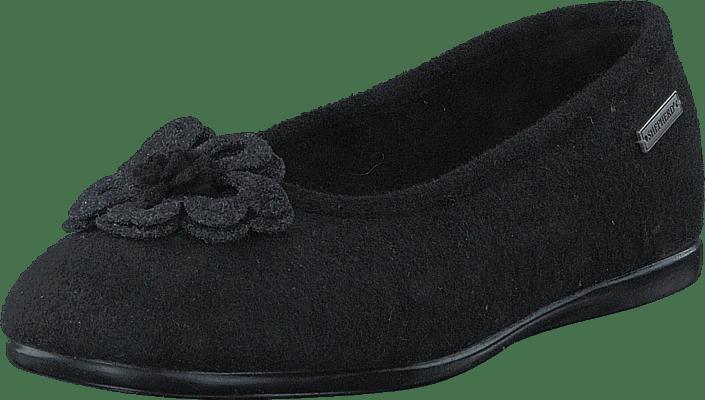 Online Shepherd Kjøp Kelly Sorte Flats Black Sko R48Bv