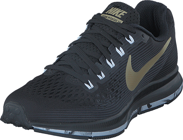 newest 439b0 e007e Nike - Wmns Air Zoom Pegasus 34 Black Anthracite White Gold