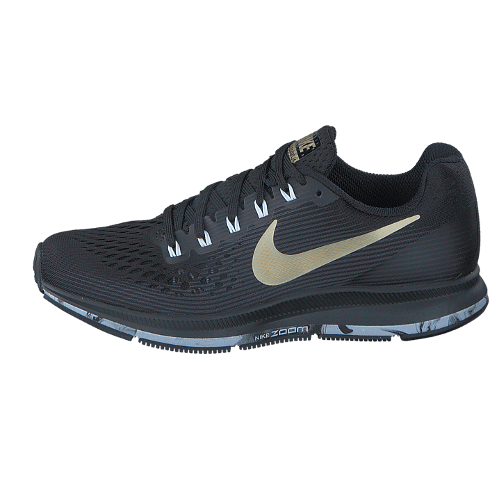 quality design 0cf7d 76f05 ... usa kjøp nike wmns air zoom pegasus 34 black anthracite white gold svart  36541 f97a4