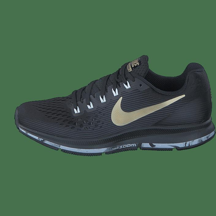 Köp Nike Wmns Air Zoom Pegasus 34 Black Anthracite White Gold svarta Skor  Online  df98371411512