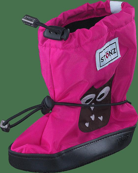 Kjøp Stonz Stonz Booties Owl Fuchsia sko Online | FOOTWAY.no