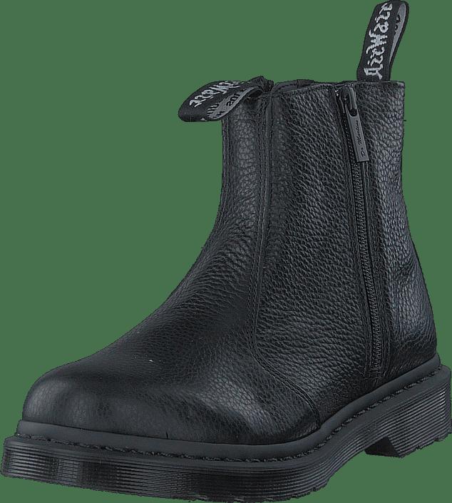 Brand New Ladies Black Dr Martens 2976 Aunt Sally Zip Chelsea Boots UK 3 EUR 36 883985986534 | eBay