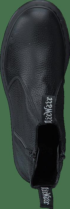 2976 Martens 60028 Og 94 Støvler Online Black Køb Boots Dr W Sko Grå Zip EanSq4