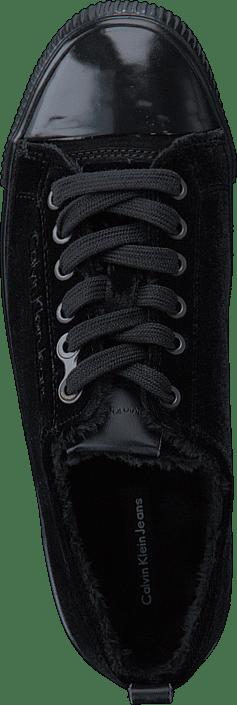 Online Klein Velvet Sneakers Jeans Sko Blk Calvin Sorte Dede Kjøp nRx8BIfw