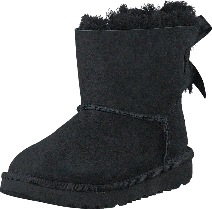 Kjøp UGG Mini Bailey Bow II Black sko Online | FOOTWAY.no