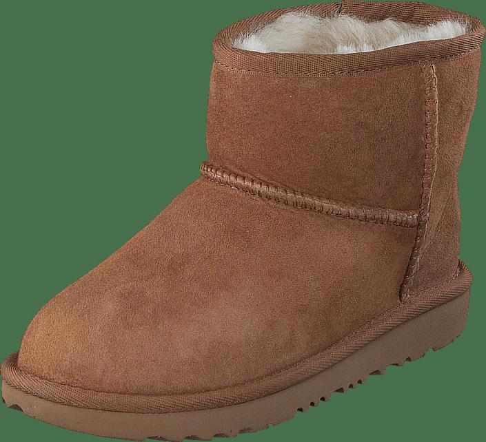 Online Ii Brune Boots Ugg Kjøp Mini Classic Kids Chestnut Sko 7Hqg7Z18wx