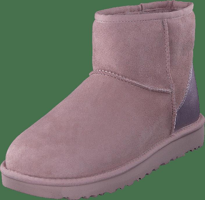Metallic Lilla Sko Mini Online Dusk Ugg Ii Classic Boots Kjøp P7qvaII