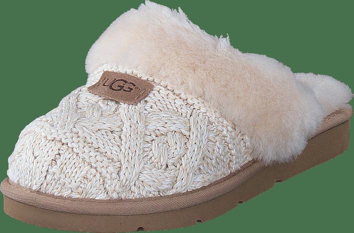 Cozy Grå Kjøp Cable Sandals Ugg Fawn Sko Online Hq441w5