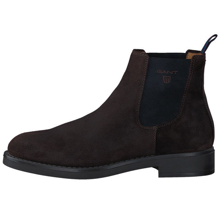 Oscar G46 Dark Brown Suede
