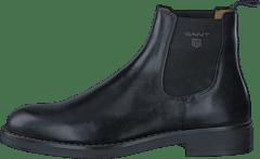 e19096b04f90e3 Gant - Oscar G00 Black Leather