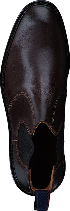 Dark Spencer Brown Sko Online G46 Brune Boots Gant Leather Kjøp 51qwtt