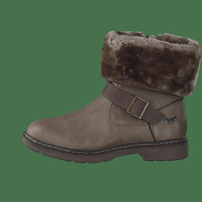 Brune Boots Kjøp Sko Taupe Mustang Online 1235613 318 I6qxR6v