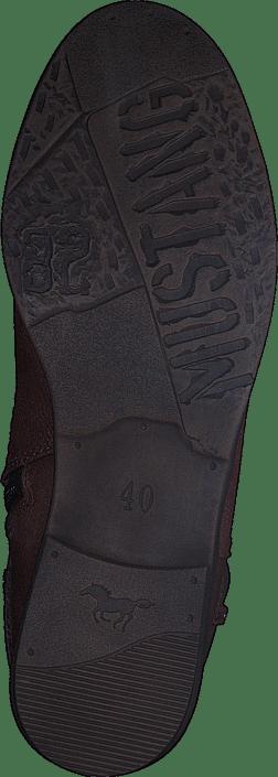 Boots Kjøp Online Brune Sko 301 Mustang Chestnut 1157552 qn0wvaqP