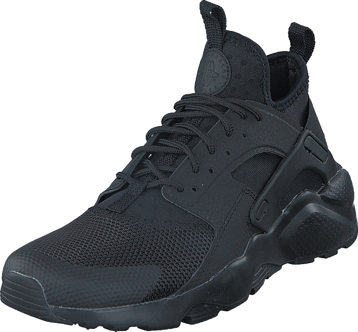 Nike Wmns Air Huarache Run BlackBlack White Sko Svart