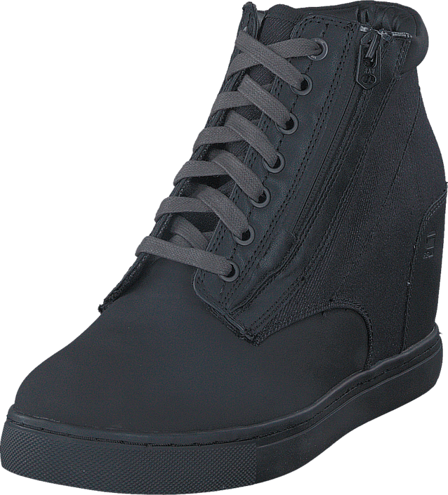 G Star Raw Pristel Zip Wedge svart svarta Skor Online