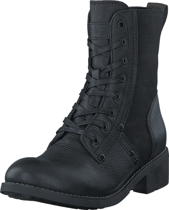 Labour Boot Military Lth/Capter Denim